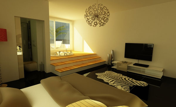 Comfortable Bedroom Design