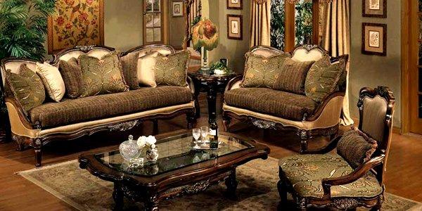 Place patterned carpets