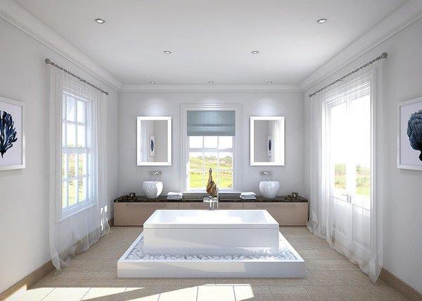 Unbelievably Design of bath area