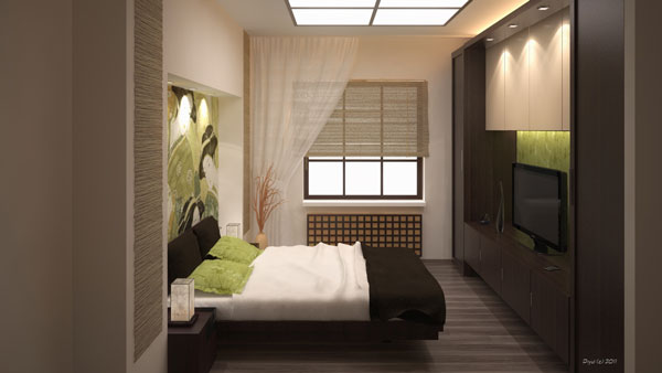 16 relaxing bedroom designs for your comfort home design for Japanese bedroom designs pictures