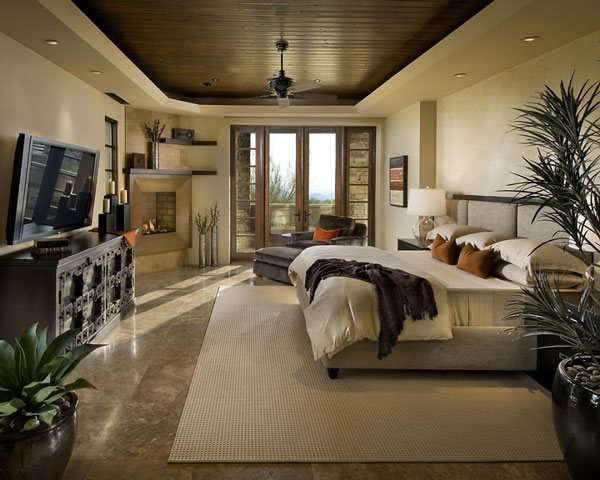 Wide Masters Bedroom Design