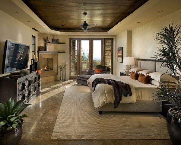 Wide Masters Bedroom Design