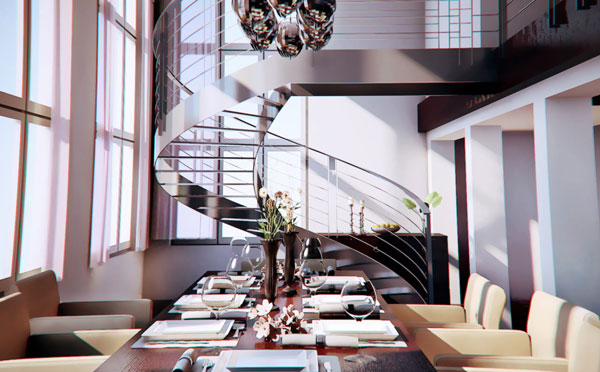 Inviting Dining Room Design