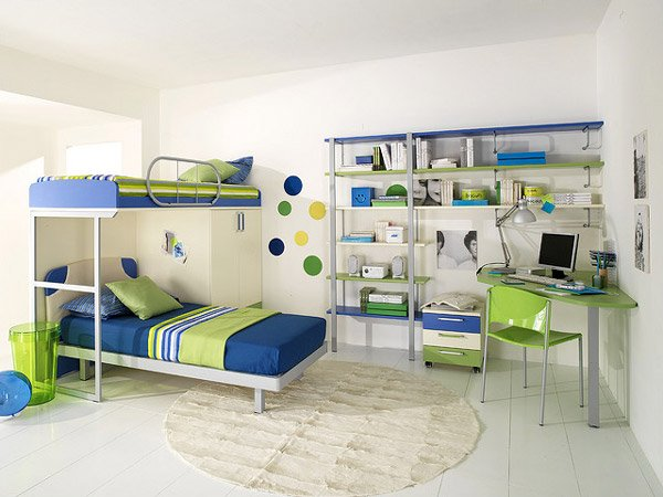 Attractive Child's Bedroom Design