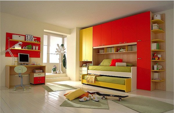 Inviting Child's Bedroom Design