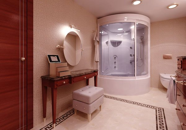 16 refreshing bathroom designs home design lover for Imagenes de banos decorados