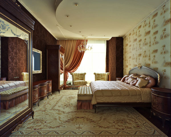 Classic Bedroom Design