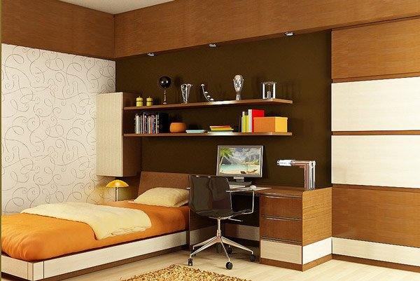 Formal Child's Bedroom Design