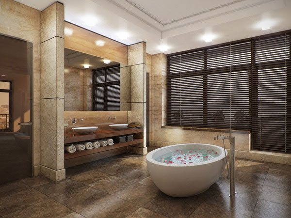 16 Refreshing Bathroom Designs | Home Design Lover