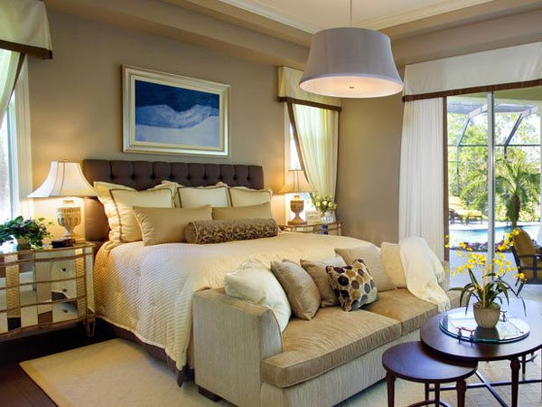 Really Elegant Masters Bedroom Design