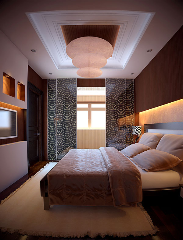 Well-decorated Bedroom Design
