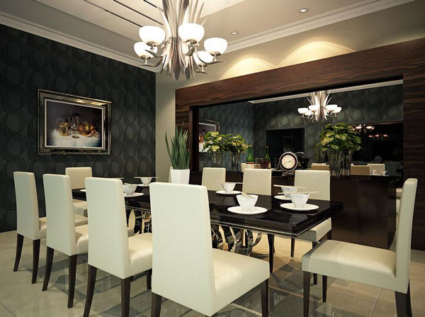 Expressive Dining Room Design