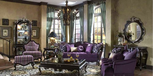 How to have a victorian style for living room designs - Decoration salon style romantique ...