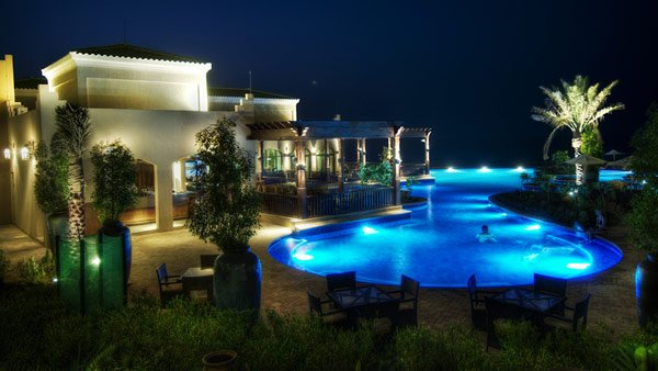 Romantic Pool Design