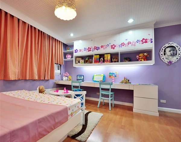 Pretty Child's Bedroom Design