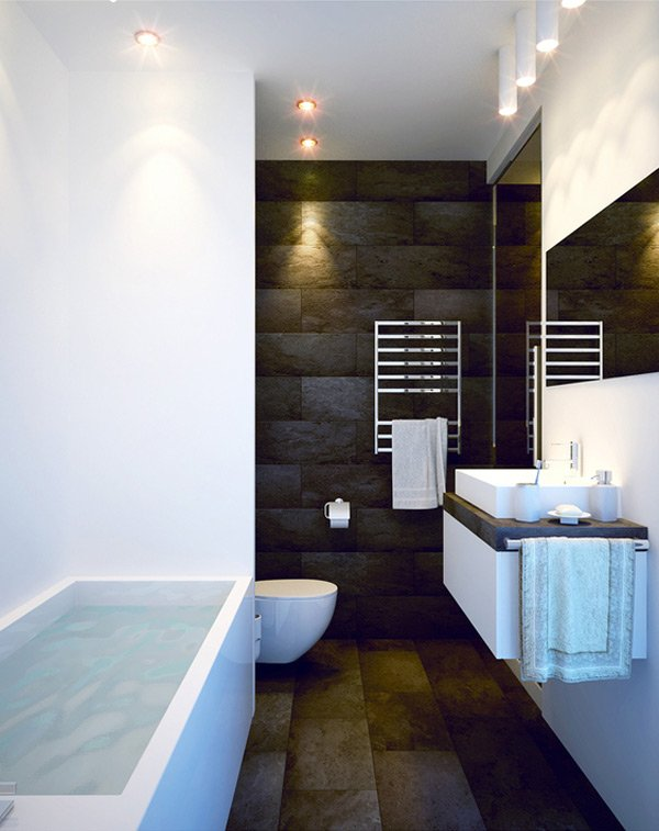16 refreshing bathroom designs home design lover for Nice bathroom designs