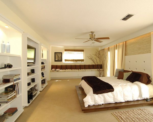 Pretty Masters Bedroom Design