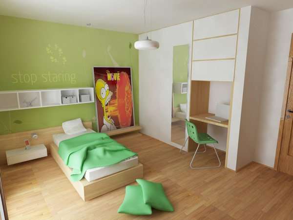Nice Child's Bedroom Design