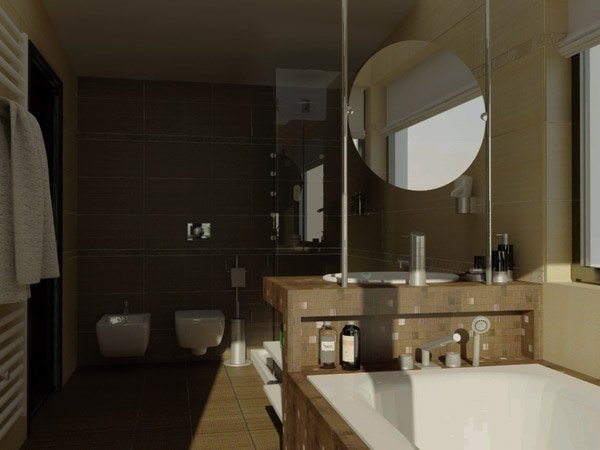 Realistic Bathroom Design