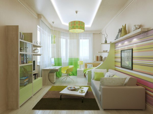 Well-Designed Child's Bedroom