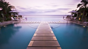 infinity pool image
