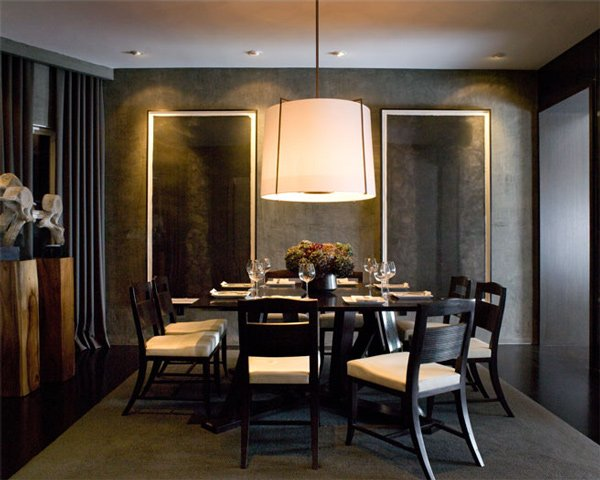 15 adorable contemporary dining room designs home design for Dining room ideas modern