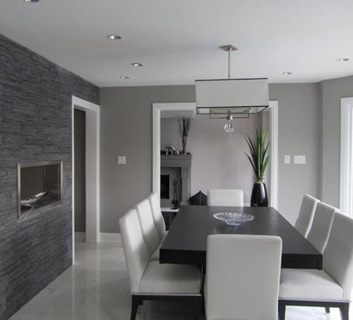 15 adorable contemporary dining room designs home design for Dining room ideas in grey
