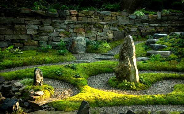 Landscape designs for creative and sophisticated garden for Garden labyrinth designs