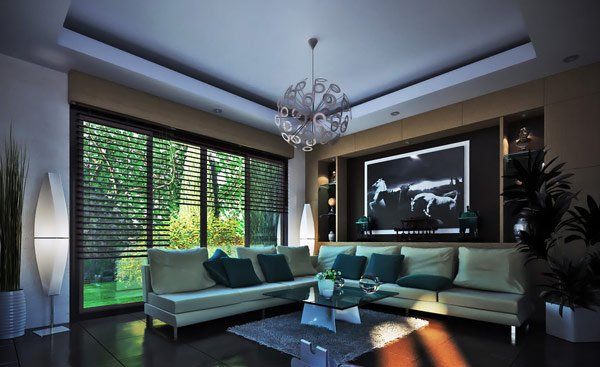 Really Nice Contemporary Living Room Design