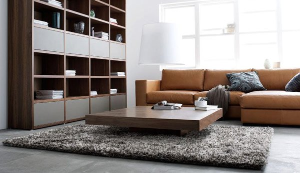 Invitingly Nice Contemporary Living Room Design