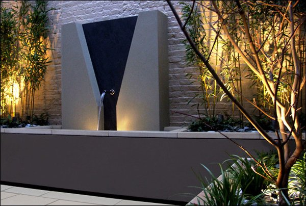 slate water feature