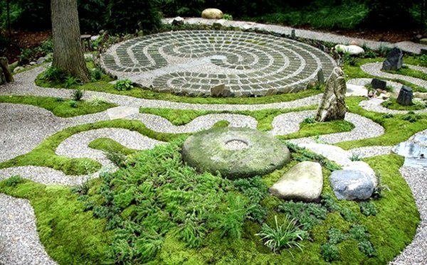 landscape designs for creative and sophisticated garden