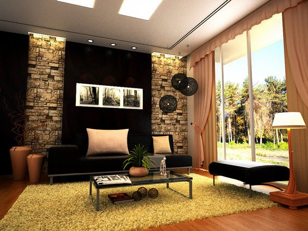 Amazing Contemporary Living Room Design