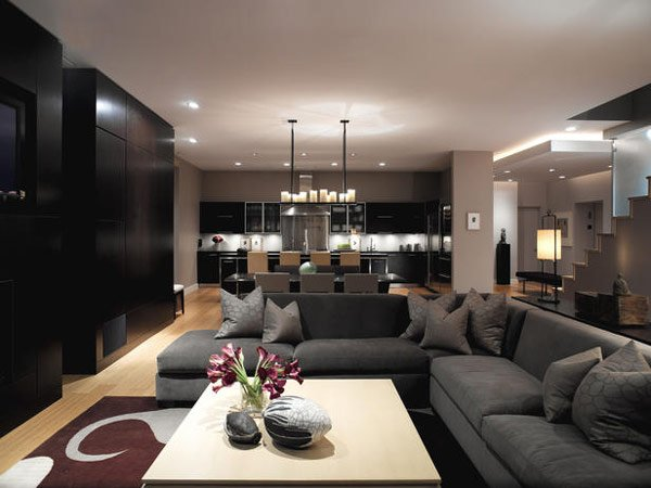 Incredible Contemporary Living Room Design