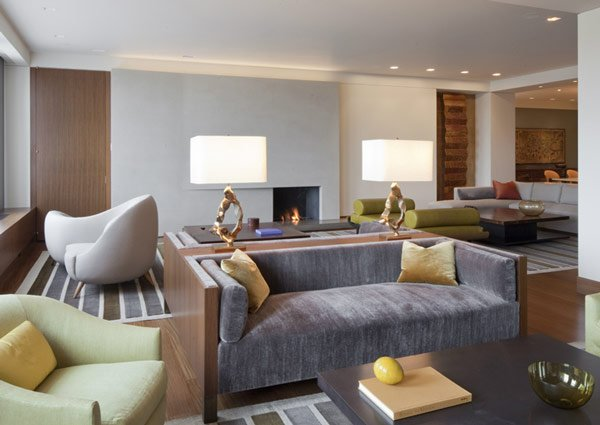 Fabulous Contemporary Living Room Design