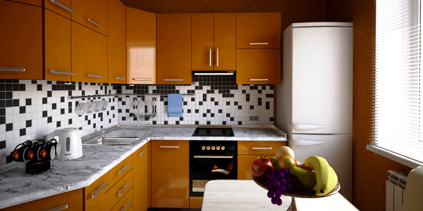 Small Kitchen Design Tips For More Visual Space Home Design Lover