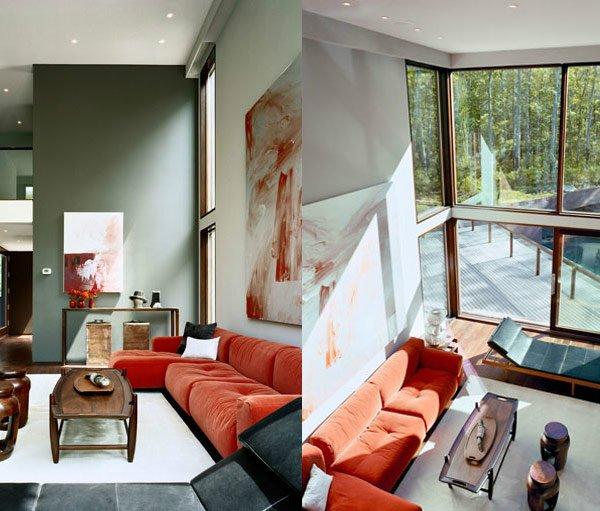 Elegant Contemporary Living Rooms