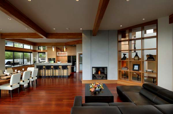 Modern Open Space Natural House Design Armada House The Wooden Box Home Of Your Dreams Home Design Lover
