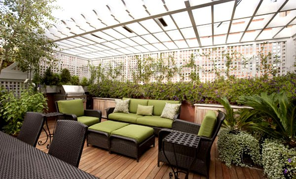 15 enchanting and whimsical roof garden landscape designs for Rooftop garden designs