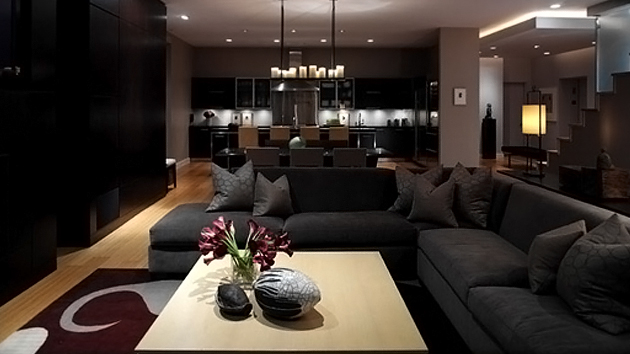 16 elegant contemporary living rooms home design lover for Elegant contemporary living rooms