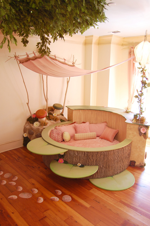Magical children 39 s bedroom from kidtropolis home design for Fairy princess bedroom ideas