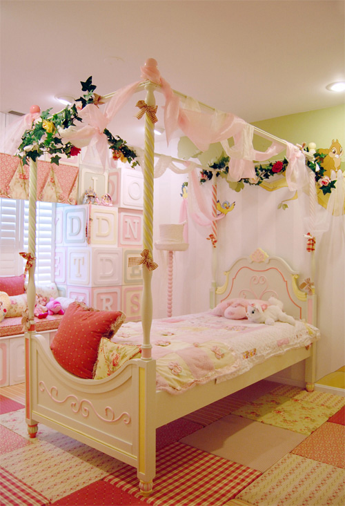 Magical children 39 s bedroom from kidtropolis home design for Fancy girl bedroom ideas