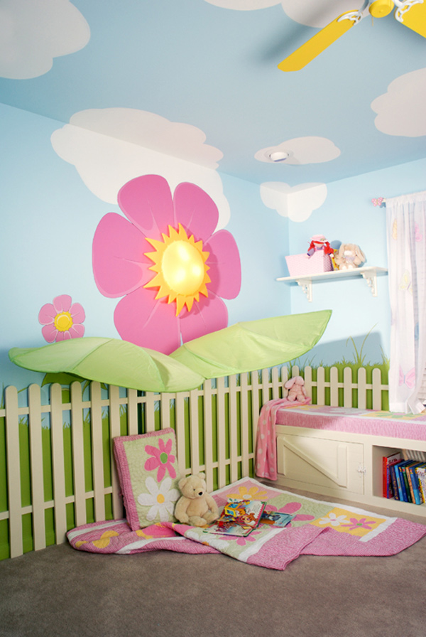 Magical Childrens Bedroom from Kidtropolis Home Design