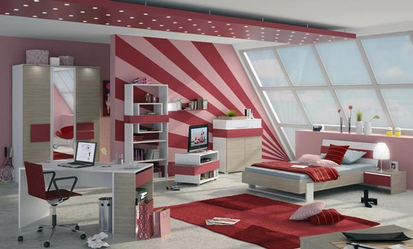 Cool Teen Bedroom Design