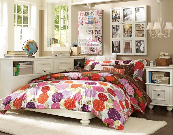 Very Nice Teen Bedroom Design