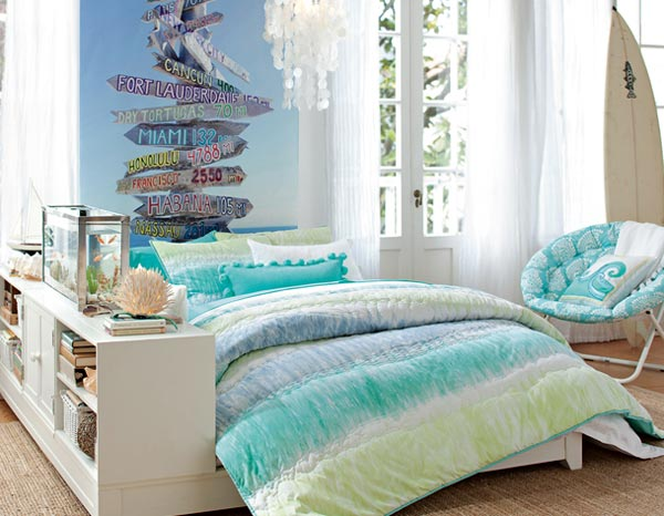 Artistic Teen Bedroom Design