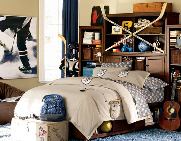 Sporty Teen Bedroom Design