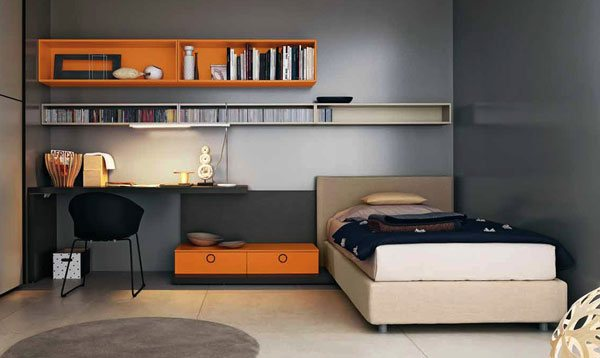 Double Teen Bedroom Design