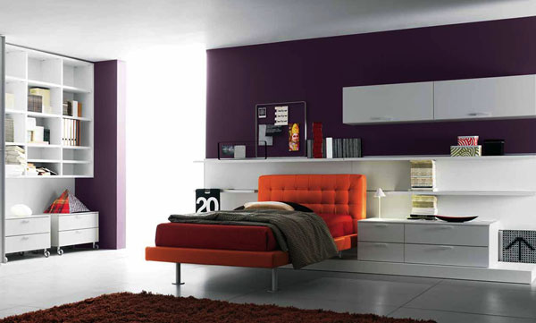 Pretty Teen Bedroom Design