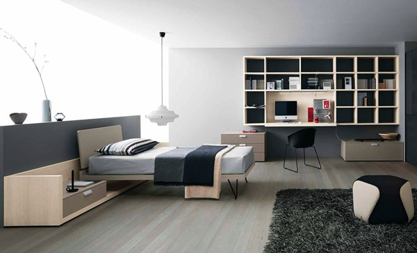 15 cool and well expressed teen bedroom collection home design lover - Chambre garcon ado ...